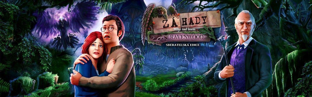 Záhady: Mlhy nad lesem Ravenwood. Sběratelská edice