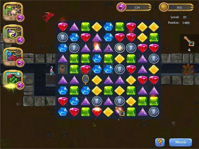 Screenshot  «Caves and Castles: Underworld» № 1