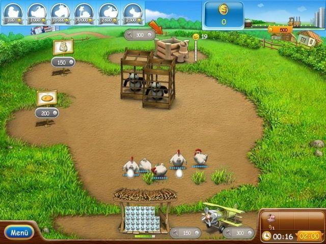 Screenshot  «Farm Frenzy 2» № 1