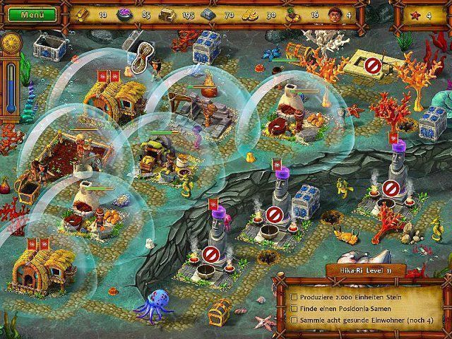 Screenshot  «Moai 5: Neue Generation. Sammleredition» № 4