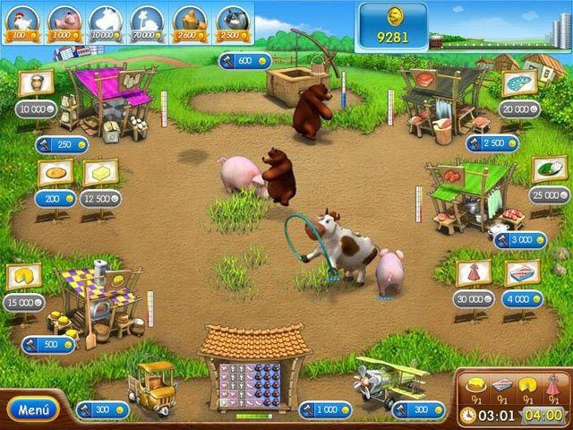 Скачать Portable Farm Frenzy 2 v1.1. Системные требования: Windows 2000/XP