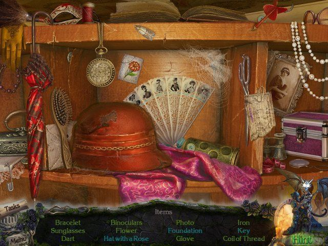 Mystery Castle: The Mirror's Secret. Platinum Edition download free en Español