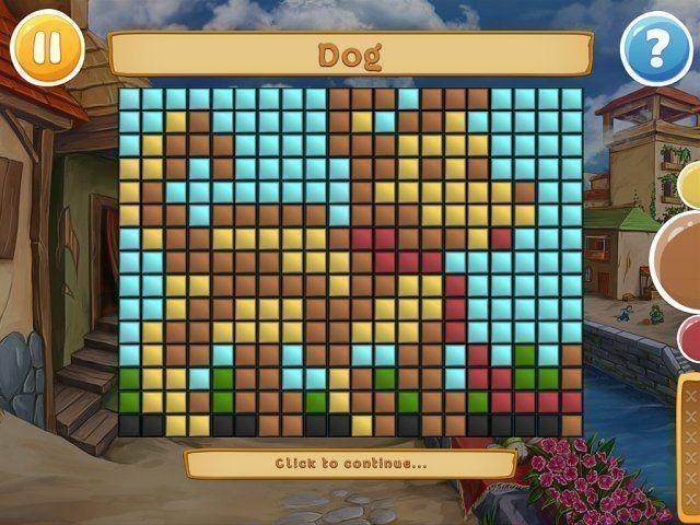 Nonograms: Wolf's Stories en Español game