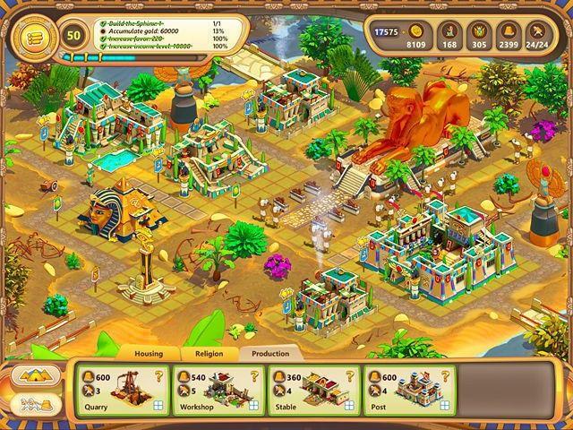 Ramses: Rise of Empire. Collector's Edition download free en Español