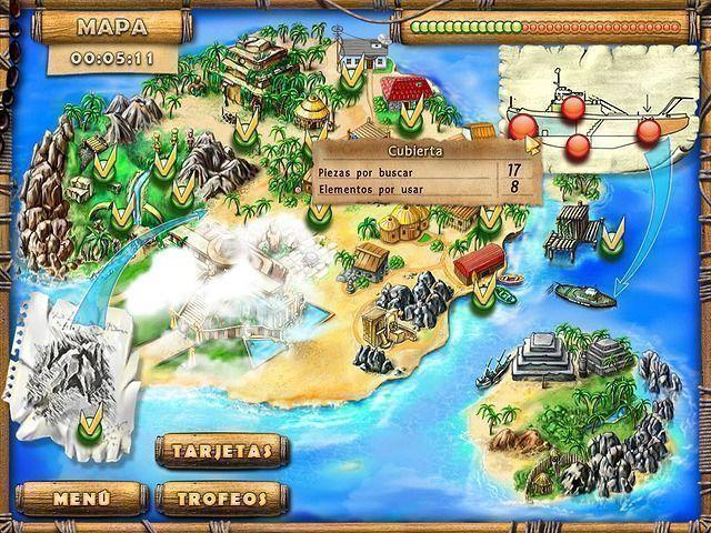 Los Tesoros de la Isla del Misterio download free en Español
