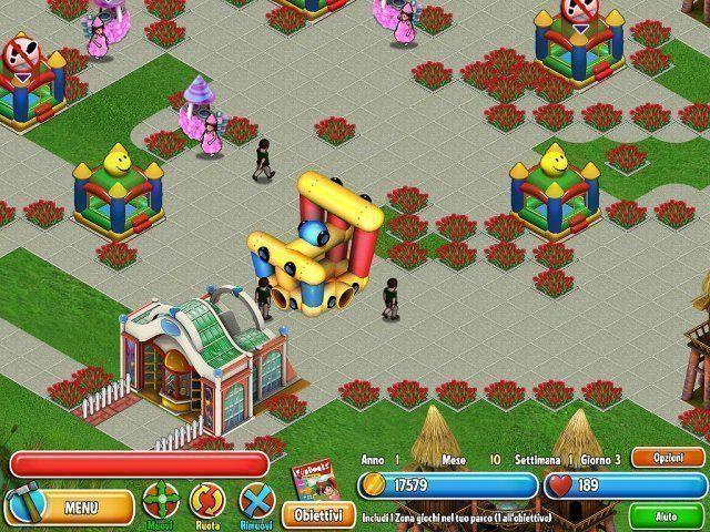 Gioco Dream Builder: Il Parco dei Divertimenti download italiano
