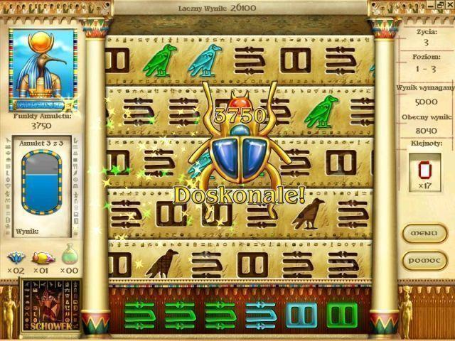Tajemnice Horusa Gra Bezpłatne