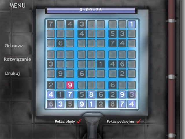 Bezpłatne pobieranie Zabawy z Sudoku