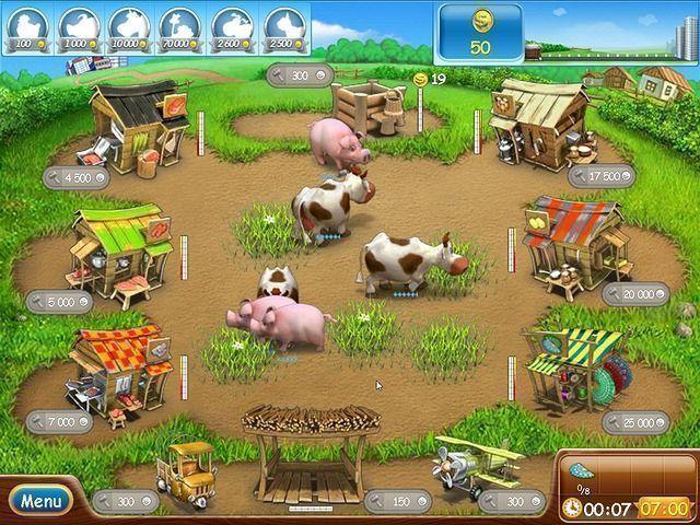 Веселая ферма minecraft